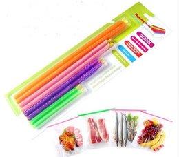 Wholesale Best Magic Bag Sealer Stick Unique Sealing Rods Great Helper For Food Storage Sealing cllip sealing clamp clip Hot