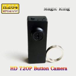 Promotion mini boîte hd Low Light H.264 720P HD Mini DVR Spy Button Camera Enregistreur vidéo avec contrôleur Magic Remote dans Retail Box Dropshipping