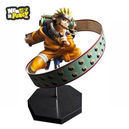 Wholesale Naruto Brand Japanese Anime Ultimate Ninja Shippuden PLEX DPCF Uzumaki PVC Action Figure Fans Collection Models Doll Birthday Gift Festival
