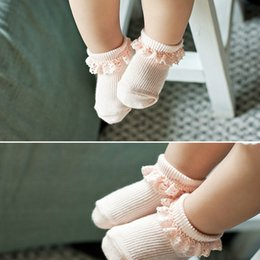 Cute Korea Style children sock baby girls cotton lace socks Hollow Socks kids antiskid socks leg children Stockings Kid Gift