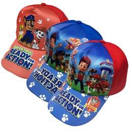 Wholesale 2016 Cheap price new Paw pattern Children accessories children hat Cartoon dog hat peaked cap sunbonnet lovely style