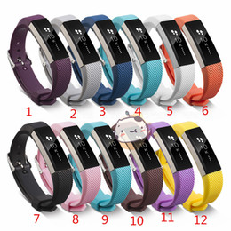 Newest Silicone Replacement Straps Band For Fitbit Alta Watch Intelligent Neutral Classic Bracelet Wrist Strap Band With needle Clasp