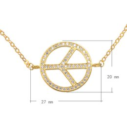 2016 Hot Sale CZ Brass Bracelet With 1.5 lnch Extender Chain Peace Plated More Colors For Choice 27x20mm Length:9Inch 1PCS Lot