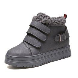 Acheter en ligne Air en cuir libre-chaussures sexy de Free Shopping femme femmes bottes hiver 2016 hiver bottes de qualité de mode en cuir des femmes sportives de plein air Intensifier Bottes chaussures de cheville