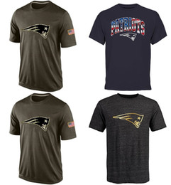 Wholesale Patriots T Shirts cheap rugby football jerseys New England Salute To Service Banner Wave Black Gold Collection Tshirts freeshipping
