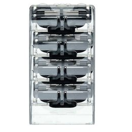 Wholesale 1 razor cartridge and Setrazors High Quality Razors Blade mache shaving Razor Blades Men s Face shaver blades For Men Sharpener