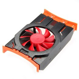 Wholesale Heat sink Fan Graphics Video VGA Card Cooling Cooler Fan Heatsink for ASUS GALAXY GT240
