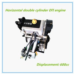 Wholesale Horizontal Double Cylinder EFI Engine Displacement cc Suitable for ATV and UTV It can be manufactured upon customers requested design