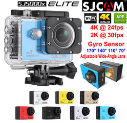 Wholesale Original SJCAM SJ5000X Elite Waterproof Action Camera K fps K fps WiFi Sports Cameras Gyro sensor HD DV LCD Diving m