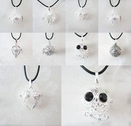 Bola jaula online-Mexicana Bola Chime Ball Ángel Caller Colgante Mujeres Embarazo Baby Hollow Cage Bell Colgante Fit 16mm Chime Ball