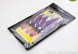 Wholesale Blank Retail Zipper OPP Bags Custom Design Premium Zip Lock PVC Gift Bags Wireless Store Phone Cases Bags