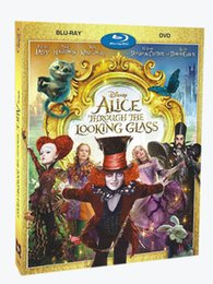 Wholesale Alice Through the Looking Glass Blu ray BD DVD Disc US Version DVD Boxset New