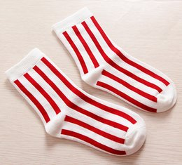 Occident Style Baby Socks Kids Longitudinal Stripes Cotton Foot Cover Cute Kids Socks Medium Thickness Spring Autumn Children Socks 10pairs