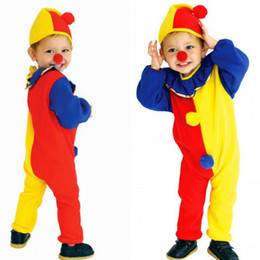 Halloween Masquerade Costumes baby kids Halloween suit children funny clown cosplay clothing fashion S-M-L C1205