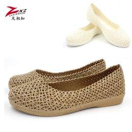 Wholesale Friend foot sandals summer foreign trade processing flat heels muffin bottom FLIP FLAT SANDALS female