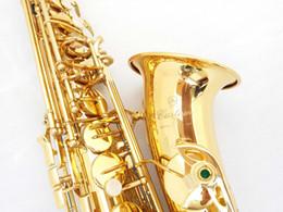 Wholesale ALL NEW yama YAS Z E flat Alto Saxophone golden ALTO SAX Woodwind