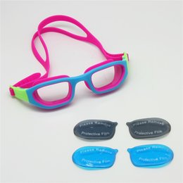 Wholesale Children Swim Goggles LS Kit Sea Swimming Blue Ray Filtered Lens Grey Transparent Lens for Day Night Pool Beach Water Sports