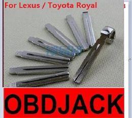 Folding key blanks For Lexus   Toyota Royal Car key embryo replacing the key head NO.13