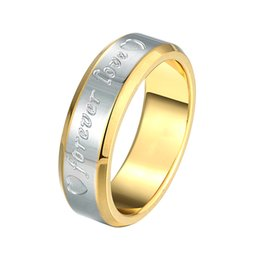 Free Shipping Wholesale Silver-plated Ring,Silver Fashion Jewelry,Forever Love Steel Women&Men Gift Silver Jewelry Finger Rings