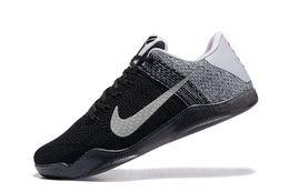 Wholesale Cheap Rhinestones Laces - New Kobe XI Elite Low Basketball Shoes Men Original 2016 Arrival Sneakers Cheap Retro Weaving Kobe 11 Boots Size Eur 40-46