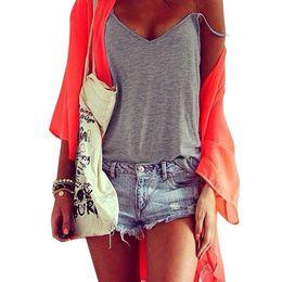 Wholesale SIF Women Summer Vest Top Sleeveless Shirt Blouse Casual Tank Top T Shirt APR