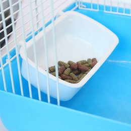 Free transportation Small pet food bowl Multifunctional Hamster Sleep House Nest Cage with Food Bowl Hamsters bowl can be hung