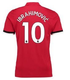 Thai Quality 17-18 Customized 10 Ibrahimovic ,6 Pogba ,9 Lukaku 27 Fellaini ,31 Matic Soccer Jerseys Shirts,Discount Cheap Soccer Wear Tops