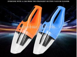Wholesale 4 Color Car washers W V High Power Super Suction Mini Dry Portable Handheld Car Wet Vacuum Cleaner