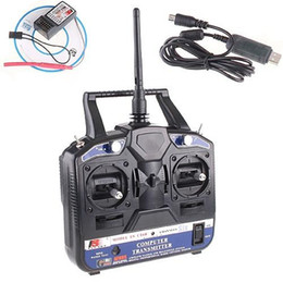 New Hot FS-CT6B 2.4GHz 6CH Transmitter + Receiver System for RC Helicopter Model shipping
