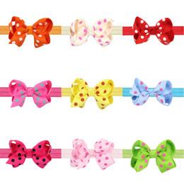 navidad tornillo hilo baby girls cm bowknot grano bandas accesorios para el cabello hecho a mano satin al por mayor estilos cintas para el pelo cintas