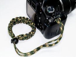 Outdoor life-saving rope umbrella rope adjustable woven camerat strap   bracelet