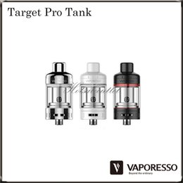 Wholesale Vaporesso TARGET Pro Ceramic cCELL Tank ml capacity TARGET Pro Atomizer Best Partner with TARGET Pro VTC Mod Original