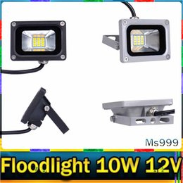 Wholesale 1 Pieces Mini V W LED Flood Light Waterproof Floodlight Landscape Lighting Lamp Warm White IP65 High Luminous Efficiency