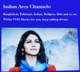 Wholesale Watch Indian Channels boxes oversea and Bangladesh Pakistani free for one year DHL shipping included