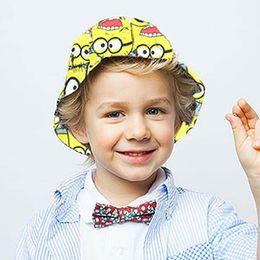 Wholesale Hello Kitty Minion Minions Sun Hat Kid Boys Girls Bucket Hat Baby Hat Spring Beanie Hat Caps Kids Summer Hats Children Caps Ciao C26376