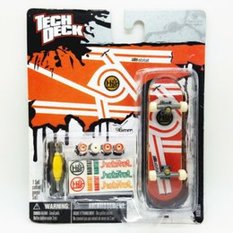 Wholesale mm Fingerboard Tech Decks Skateboard Alien workshop Original package with wheels Screwdriver sticker professional set boys toy