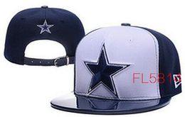 Wholesale Cowboys Dallas Snapback Caps Adjustable Football Snap Back Hats Snapbacks High Quality Players Sports
