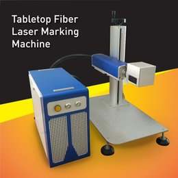 Wholesale Long Life High Accuracy Tabletop Watt Fiber Laser Marking Machine applications for medical instrument tools permanent marks
