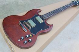 Compra Online Acabado mate-Nueva guitarra eléctrica del humbager de las recolecciones de la guitarra eléctrica G400 de la guitarra eléctrica G400 SG, guitarra estándar 120 del SG, envío libre