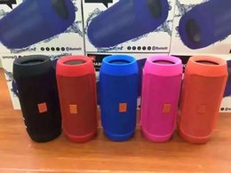Freeshipping Nice Sound Charge 2+ Bluetooth Outdoor speaker phone call Mini Speaker Waterproof Bluetooth Speakers Can Be Used As Power Bank