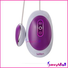 Acheter en ligne Balle vibrante télécommandée imperméable à l'eau-LETEN Tidewater Bullet Vibrateur Waterproof 10 Speed ​​Télécommande Pulse Vibrating Egg G Spot Bullet Vibrator, Clit Stimulator Sex Products