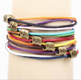 Wholesale special link for customer including bracelet and dhl frieght cost jewelry alloy bronze with baby elephant Dumbo accessories handmade