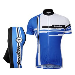 Tasdan Unique Sports Jerseys Sets 3D Gel Pad Shorts and Comfortable Cycling Tops Bicycle Sports Clothes