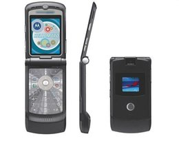Refurbished Original RAZR V3I Unlocked Mobile Phone 1.3MP Camera Quad Band AT&T T-Mobile Multi Language