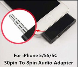 Wholesale pin to pin Docking converter mm Audio Charger Adapter For Apple iPhone to Sound Dock Speaker iOS9