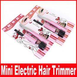 Wholesale Powered By Battery Mini Ladies Electric Epilator Body Bikini Hair Trimmer Eyebrow Leg Hair Shaver for Women