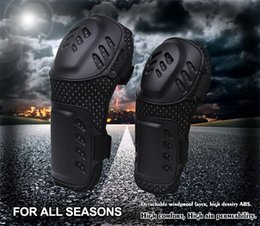 Wholesale Black PP and PE Material Motorcycle Kneepad Air Diversion Design Warm Waterproof Crashproof Breathable Mesh Outdoor Knee Supports