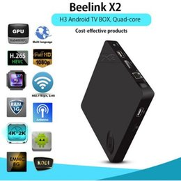 Wholesale Beelink X2 TV Box K H Decoding Most Affordable K Android H3 Quad Core GB GB G WiFi