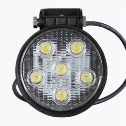 Wholesale 18w inch Led Mining Lights Driving Working light Offroad Headlight IP67 Waterproof v v Car Round LED Lamp Light