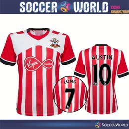 Wholesale Best thai quality new Southampton soccer Jerseys Home LONG DAVIS AUSTIN TADIC soccer football shirt